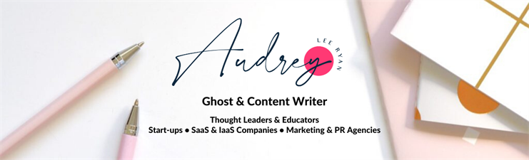 Audrey Lee Ryan, Ghostwriting & Content