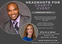 Headshots for Charity Event