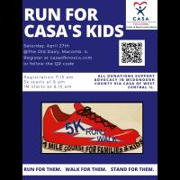 Run for CASA's Kids