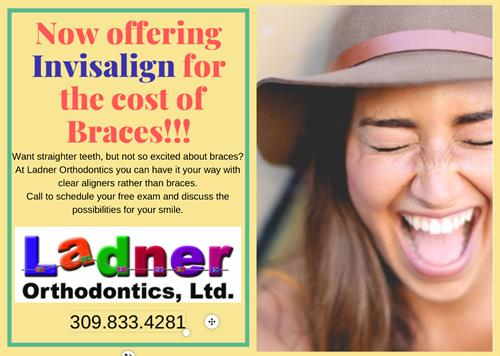 Braces or Invisalign-same cost!