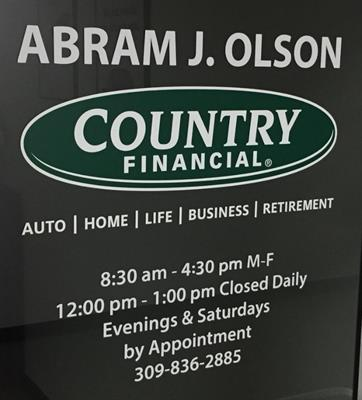 Country Financial - Abram J. Olson