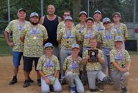 "We are proud of our little ""Shredders"" 12U Pee Wee Reese State Champions!"