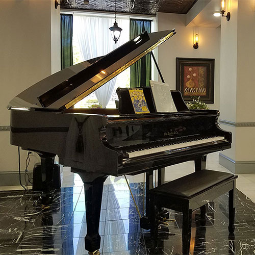 Grand player piano