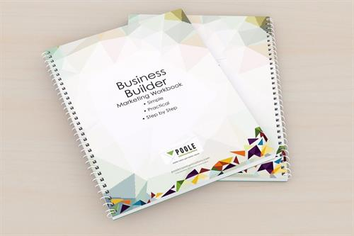 Our new Marketing Workbook to help small businesses