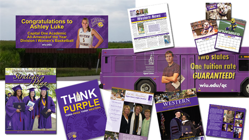 Brochures, Billboards, Bus Wraps and more!