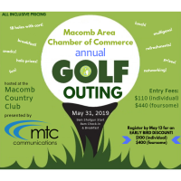 2019 Macomb Area Chamber Golf Outing
