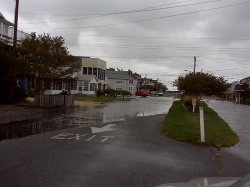 Yes, we had some rain last night.