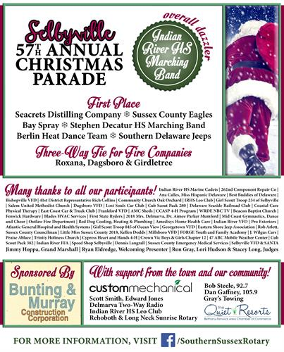 Slebyville Christmas Parade