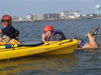 Professional but fun kayak and paddleboard classes
