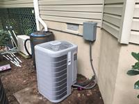 Carrier 18 SEER outdoor unit