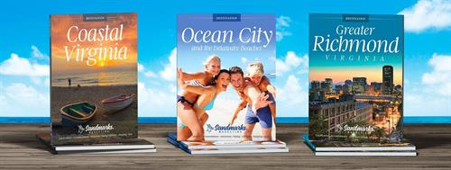 Grow your business by advertising in a Sandmarks Destination Guide.