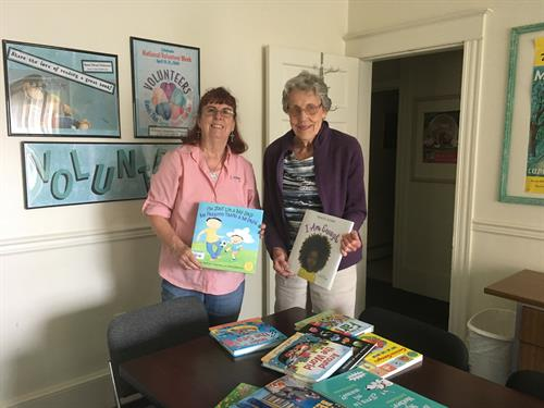 Book Donation from Seaford Church Members
