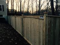 Custom Flatboard Fence
