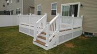 Maintenance Free Deck with Lattice Skirt