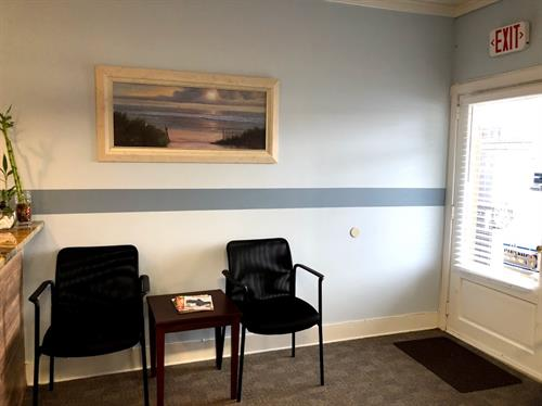 coastal care waiting area