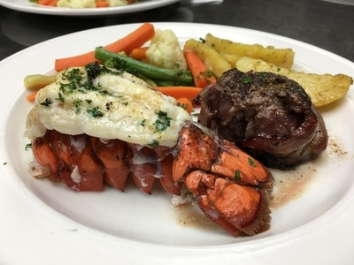 Steak & Lobster Dinner