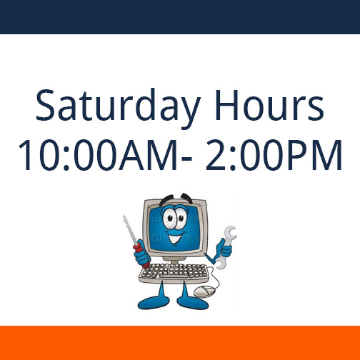 Saturday Hours: 10:00 am - 2:00 pm