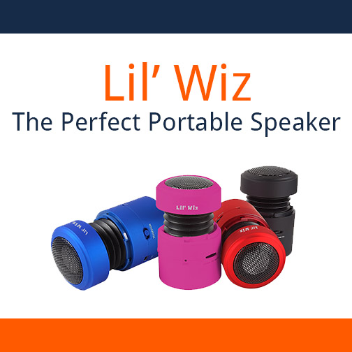 Looking for LIL' WIZ, the Perfect Portable Speaker? Seek No Further! TRINUS sells it!