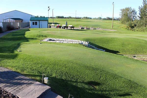NEW AREAS INCLUDE PATIOS FOR LARGE GATHERINGS BY GOLF GREENS