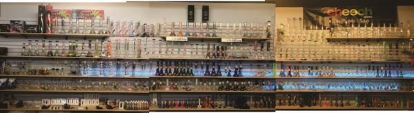 Largest Selection of Water Pipes / Bongs