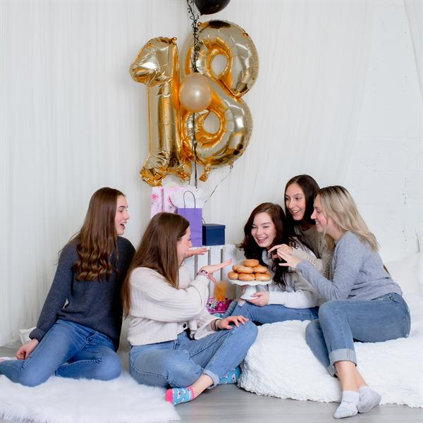 Photos with Friends . . . 18th Birthday!