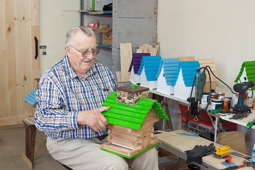The workshop is a great space for creative residents to build and design their own creations.