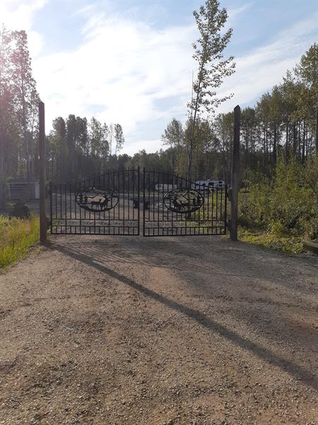 Entrance to RV lots