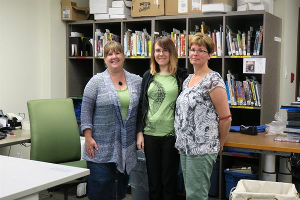 """Libraries are the best at reusing, recycling, and staying """"green"""" all year long."""