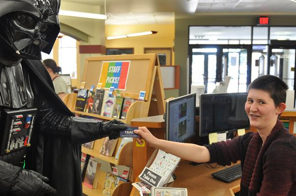 Darth Vader uses his library card--do you?