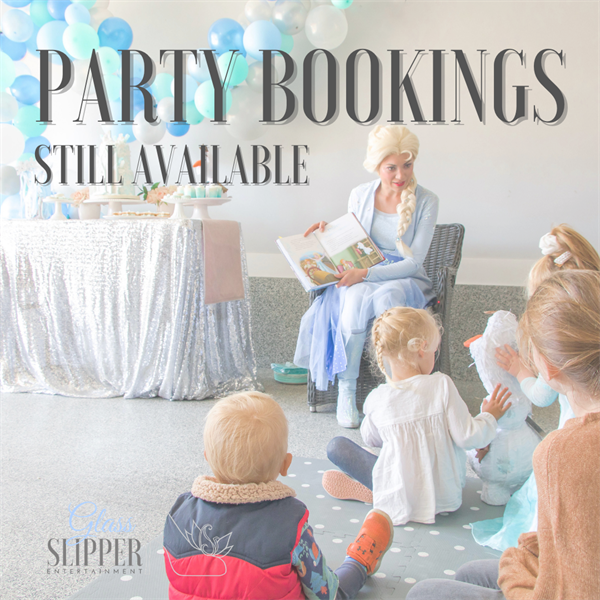 Princess party bookings