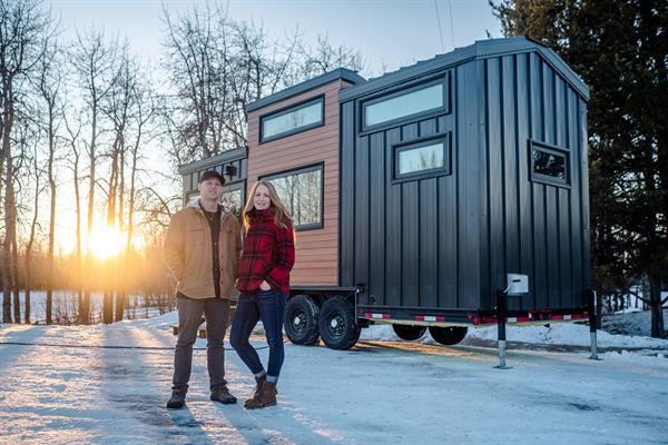 Gallery Image Fritz_Tiny_Homes_Heather_and_Kevin_infront_of_first_build.JPG