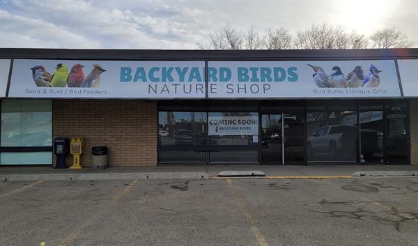 Backyard Birds Nature Shop Storefront