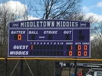 Middletown Baseball Scoreboard