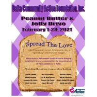 Delta Community Action Foundation, Inc. Peanut Butter & Jelly Drive