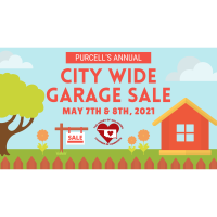 Purcell's 2021 City Wide Garage Sale