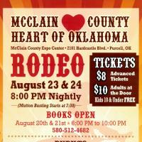 McClain County Heart of Oklahoma Rodeo