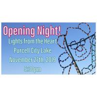 Opening Night for Lights from the Heart
