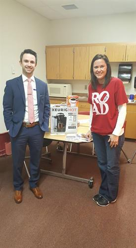 Keurig Coffee Maker donated to Purcell High School