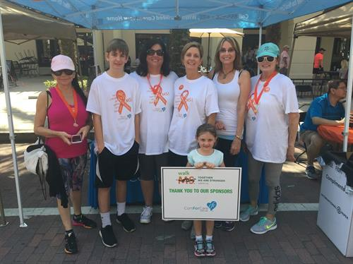 ComForCare supporting MS Society