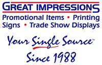 Great Impressions Signs, Printing, Promotional Items & Trade Show Displays - Altamonte Springs