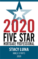 Stacy Luna Featured as a 2020 Five Star Mortgage Professional in Orlando Sentinel