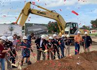 WELBRO Building Corporation Breaks Ground on the Tom Fellows Community Center