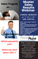 Master Sales Results Webinar Series