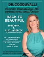 Dr. Cooduvalli Cosmetic Dermatology, LLC - Oviedo