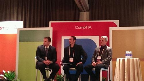CompTIA Panelist at the Annual Meeting in San Diego, CA