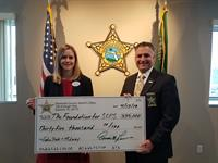 Seminole County Sheriff's Office Donates $35K to Support Youth Services