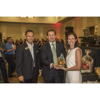 LAUREN MILLER, J. WAYNE MILLER COMPANY, RECEIVES THE MARTHA MILLER AMBASSADOR OF THE YEAR AWARD FOR THE SECOND CONSECUTIVE YEAR