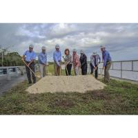 Wharton-smith Breaks Ground On City Of Sanford Seawall Project