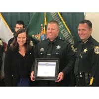 "Deputies Receive Attorney General's ""Back the Blue"" Award"