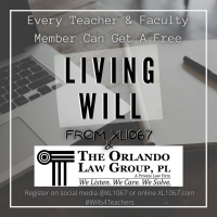 [Estate Planning] Free Living Wills for Teachers